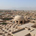 Ville de Yazd, en Iran